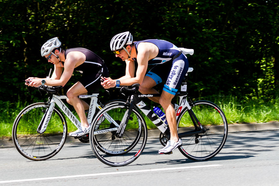 Action Fotos Triathlon in Hameln